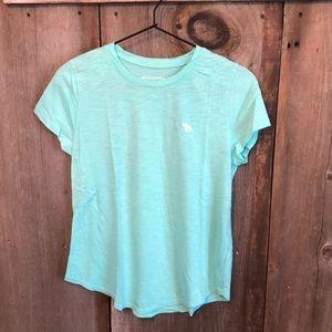 Abercrombie Mint Green Classic T-shirt Size 15/16